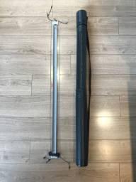 Régua Paralela Desenho Técnico Desetec Trident 100cm com tubo de armazenamento