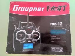 rádio controle graupner mz 12