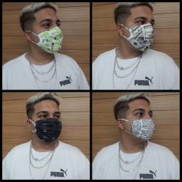 Mega promoção de mascaras protetora dupla face 3 por R$ 11,90