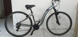Bicicleta toda em alumínio ultra leve