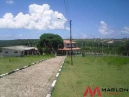 Granja pium 55000m², com rio, casa sede,chale 270M². tem localizaçao