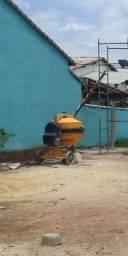 Aluguel alugo locação betoneira 400 litros 1 traço