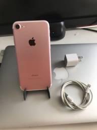 iPhone 7 128gb rosa MUITO BARATO