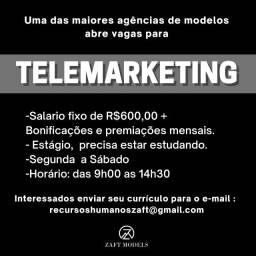 Título do anúncio: telemarketing