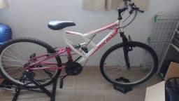 Título do anúncio: Vende-se baike com suporte para pedal