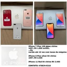 Título do anúncio: iPhone 7 Plus e 8 plus