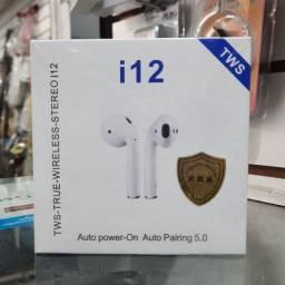 Título do anúncio: Fone Bluetooth I12 TWS 5.0