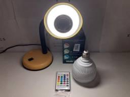 Lâmpada RGB musical Bluetooth - Entrega Grátis!!
