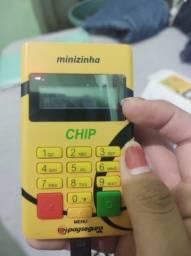 Minizinha chip zerada (praticamente nunca usada)