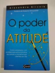 Livro Poder Atitude Empresa Clientes Leitura Auto Ajuda