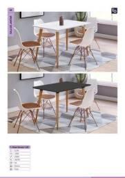 Mesa de jantar com cadeiras completa