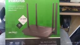 Roteador wireless dual band intelbras rf1200