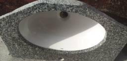 Título do anúncio: Pia de mármore para banheiro