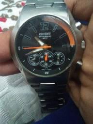Relógio orient de prata