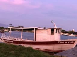 Barco 11 metros, traineira, pesca e passeio