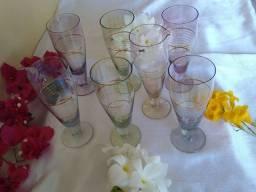 Título do anúncio: Taças Portuguesas em cristal