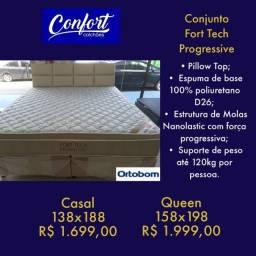 Título do anúncio: cama %% cama ortobom direto da fábrica %% painel cabeceira de binde