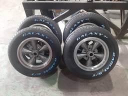 Rodas Palito Magnésio 15  Dodge / Maverick / Opala / Caravan