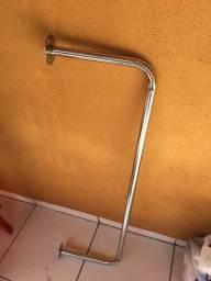 Cabideiro / Arara Inox  1M