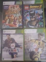 Vendo jogos e Kinect Xbox 360.