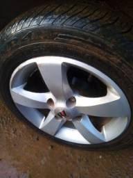 Título do anúncio: Vendo rodas 14 sem pneus topp comfira