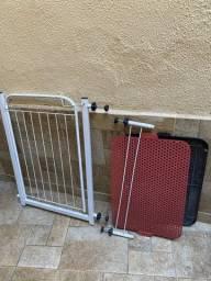 Portão de grade para cachorro + mictório