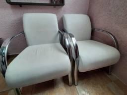 Título do anúncio: Cadeiras para salão de beleza (troco por cadeiras de escritório)