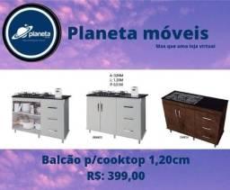 Título do anúncio: Balcão Cooktop 1,20cm // AQUÁRIOS AQUÁRIOS AQUÁRIOS AQUÁRIOS