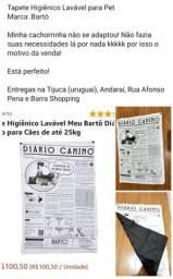 Tapete Higiênico Lavável para Pet- Marca Barthô