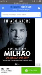 Livro Do mil ao milhão primo rico Thiago nigro