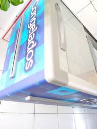 Freezer/ Expositor ilha