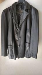 Desapegando...... casaco couro legítimo