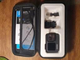 Título do anúncio: GoPro Hero 9 Black 4 meses de uso