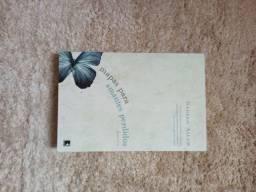 """Livro """"Mapas para amantes perdidos"""""""
