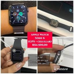 Apple Watch Série 6 GPS + Celullar)