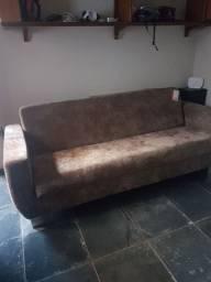 Vendo sofá cama semi novo marca Pelmex muito conservado