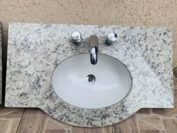 Título do anúncio: Pia de mármore Deca