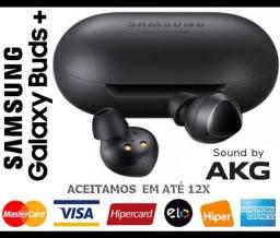 Headphone s/ Fio Bluetooth Samsung Galaxy Buds Plus AKG, Novíss, Caixa, NF, Gar