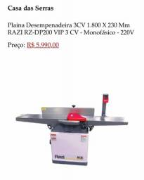 Plaina Desempenadeira RAZI DP200
