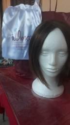 Peruca front lace de cabelo humano