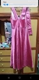 Vestido de festa usa so uma vez 70 reais