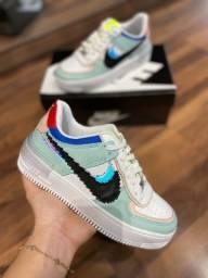 Título do anúncio: Tênis Nike Air Force Shadow 1 Couro (L.A) - 269,99