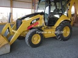 Retroescavadeira Caterpillar 416E 2016 4x4 Entrada mais parcelas com Serviço.