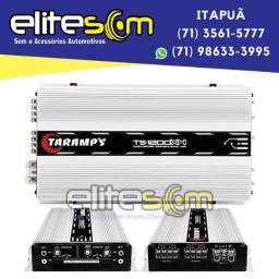 Título do anúncio: Módulo Amplificador Taramps Ts1200x4 4 Canais 2 Ohms instalado na Elite Som