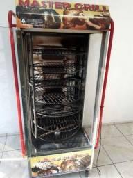 Título do anúncio: Vendo Maquina para assar Frango e Carnes R$3.000