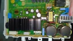 Placa principal Eletrolux LSE09 com defeito.