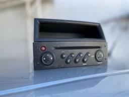 Rádio e porta objetos megane original
