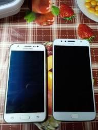 Título do anúncio: Sansung J5 16 GB e Moto G5s plus 32 GB impressão digital