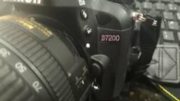Nikon d7200 com lente 18x140mm