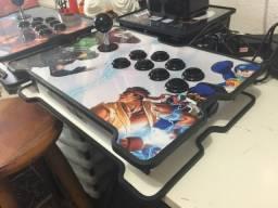 Controle Arcade para ps4, ps3, raspbery e PC